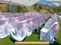 03-white-chair-cover-with-pink-sash-bow