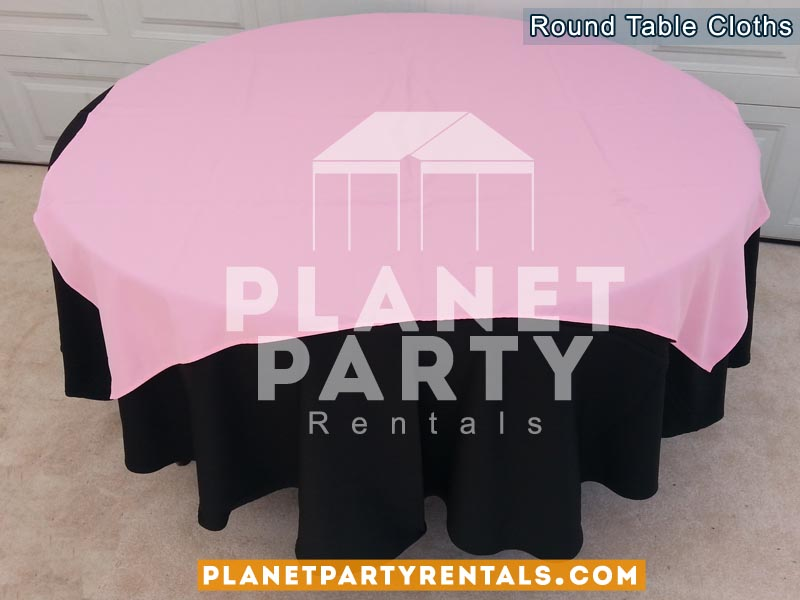 Good 10 Round Black Tablecloths With Overlay Van Nuys