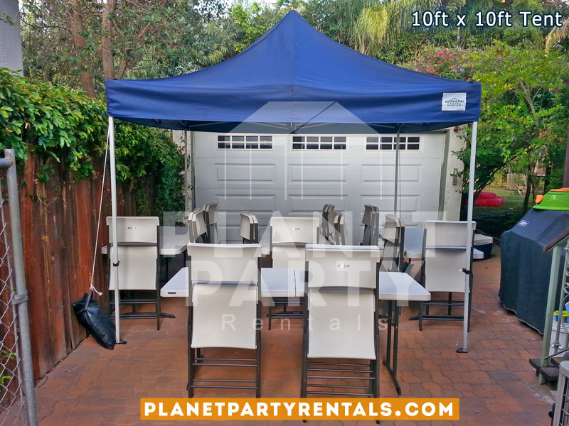 10ft x 10ft Pop-Up Tent | Tent Rentals