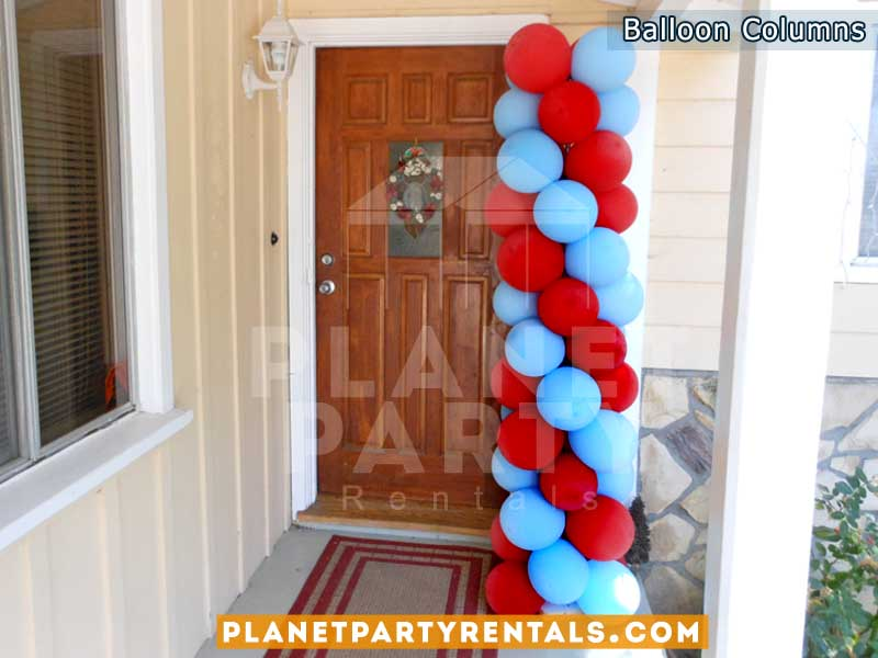 Balloon Columns and Arches | Balloon Decorations San Fernando Valley, Van Nuys, Panorama City, Reseda