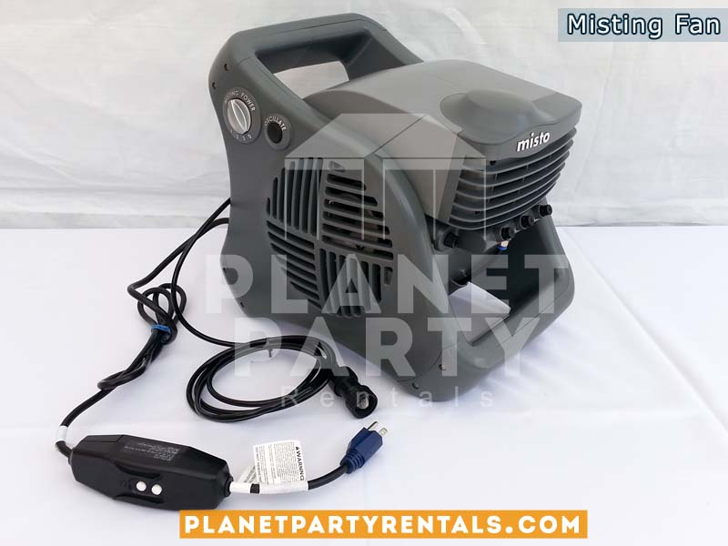 Outdoor Mister for any events. Event Tent Cooling