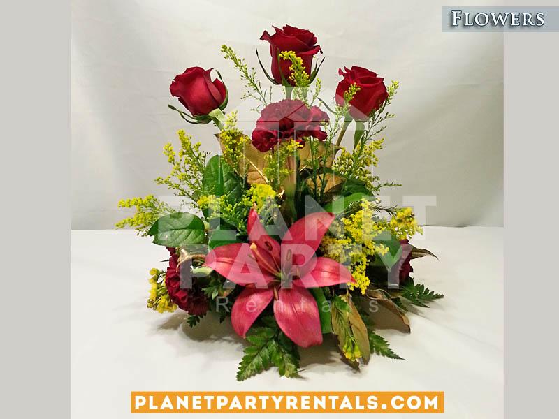 Wedding Flower Centerpieces | San Fernando Valley Flower Decorations