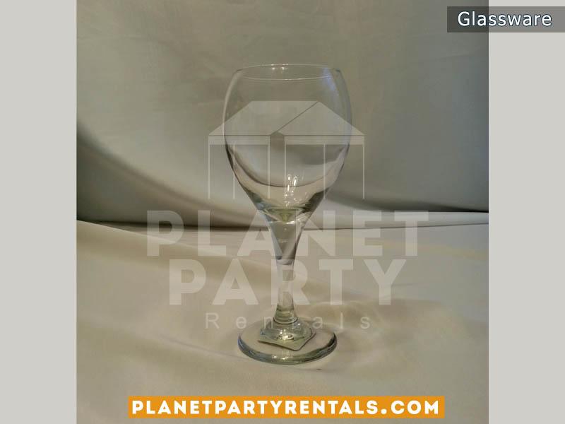 10oz Wine Glass   San Fernando Valley Glassware Rentals