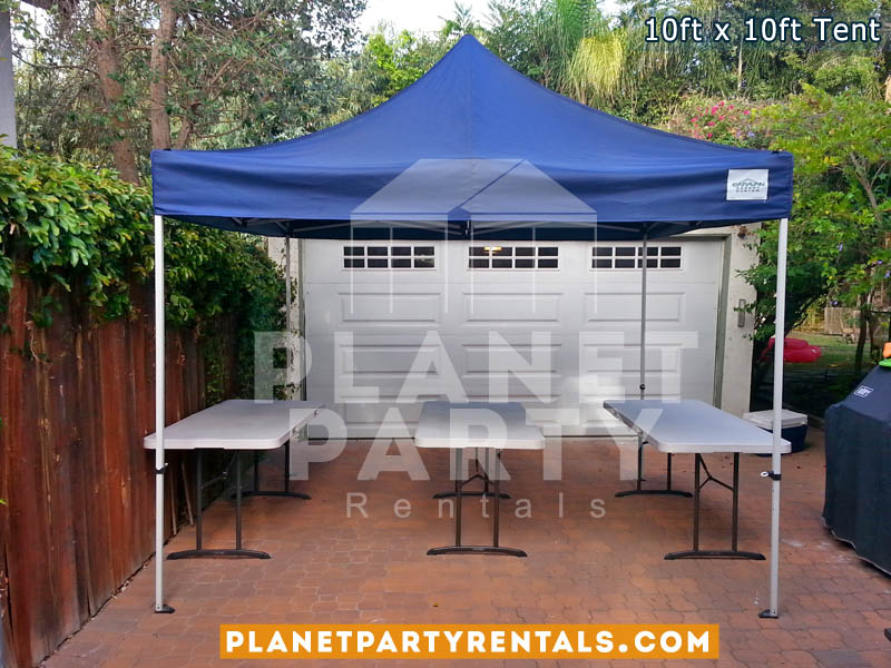 10ft x 10ft Pop Up Tent | Party Tent Rentals