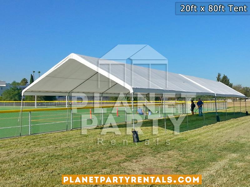 20 x 80 White Tent