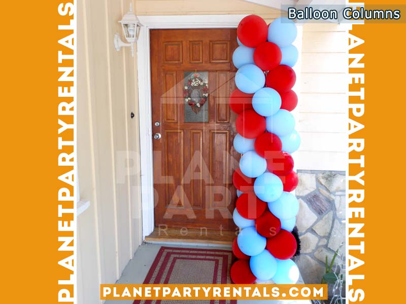 Balloon Columns | Balloon Arch/Columns Decorations San Fernando Valley