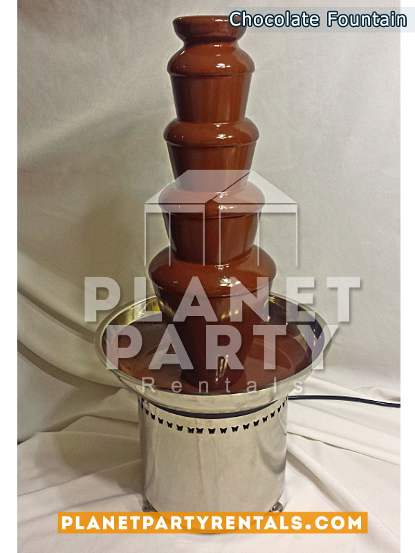 Stainless Steel Chocolate Fountain / Fondue Machine
