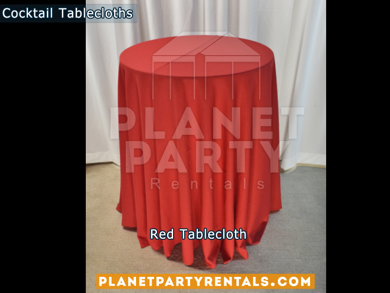 Red Tail Tablecloths For Table