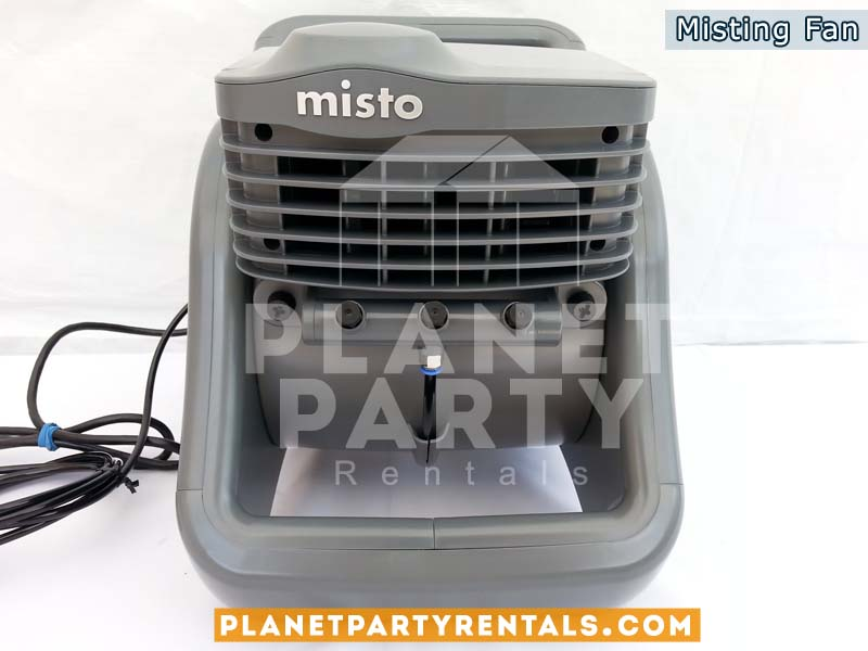 Misting Fan for outdoor use. Event cooling fan.