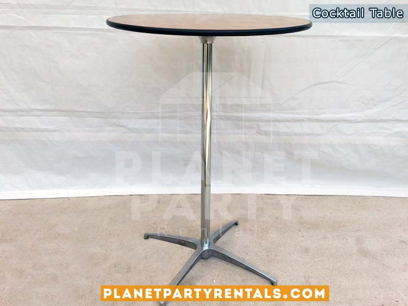 Round cocktail table wooden tables