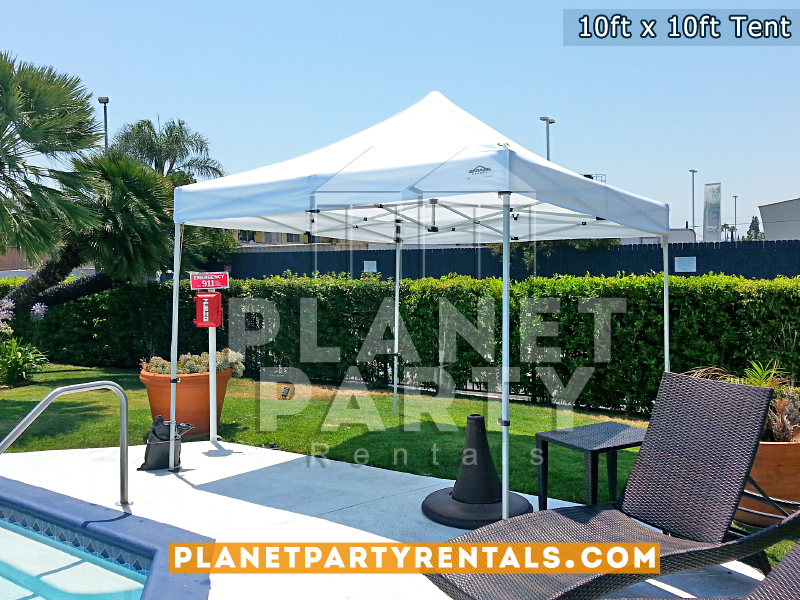 10x10 Pop Up Tent for Holiday Inn Express Van Nuys Event