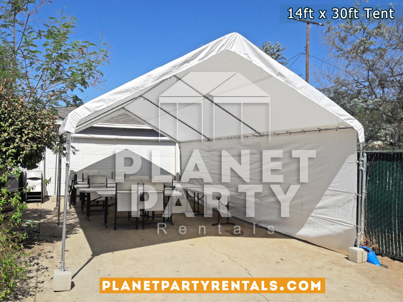 14 x 30 Tent White Party Tent