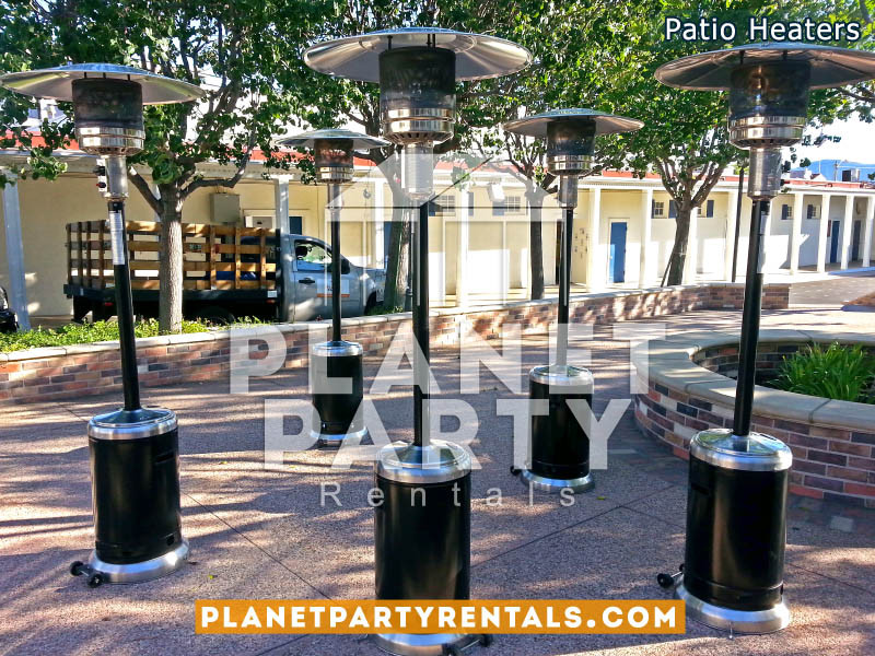 Outdoor Black Patio Heater Rentals - Patio Heaters