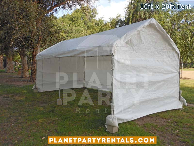 10ft x 20ft Party Tent with Sidewalls | San Fernando Valley Tent Rentals