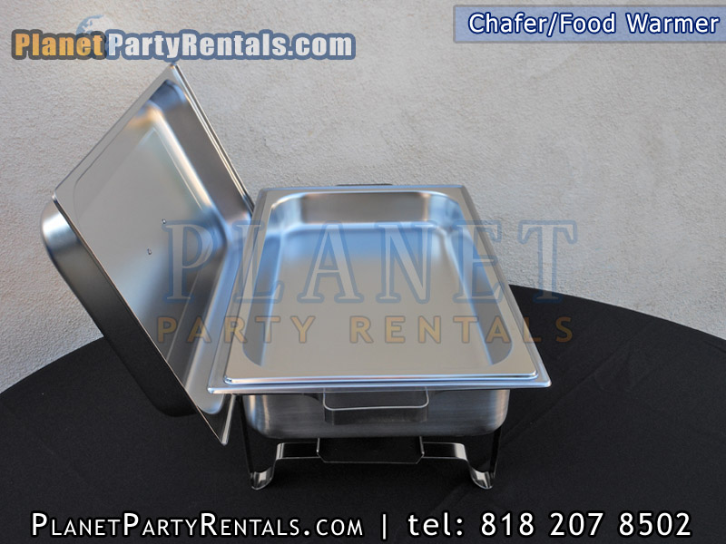 Food Warmer Rentals ~ Chafer rentals chafing dish qt rectangular