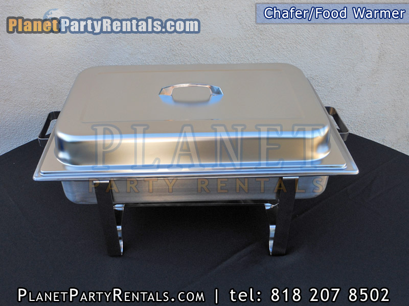 Food Warmer Rentals ~ Chafer rentals chafing dish qt rectangular