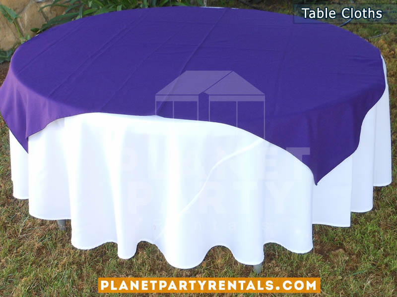 Purple Table Cloths Party City