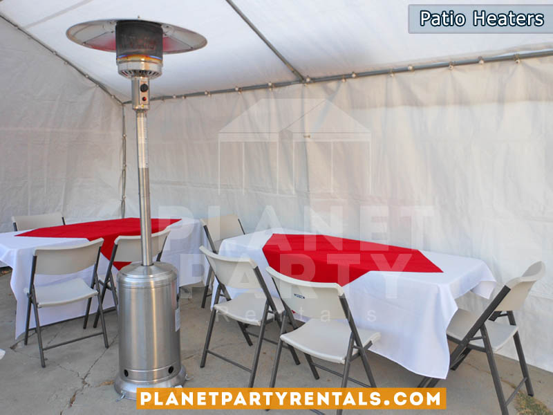 Patio Heater Rentals In The San Fernando Valley | Party Rental Equipment |  Heaters For Rent
