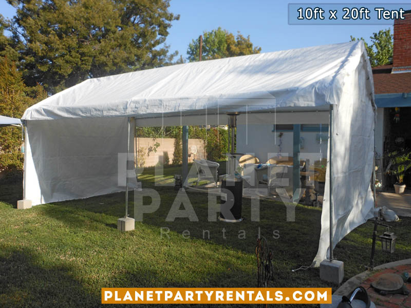 10ft X 20ft White Party Tent San Fernando Valley Als