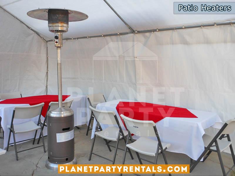 Outdoor Propane Patio Heater Rentals | San Fernando Valley Party Rentals