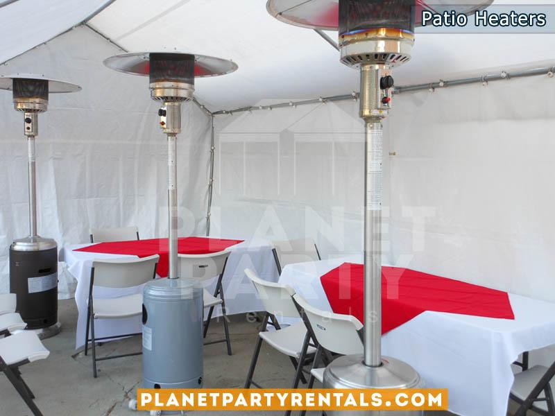 Outdoor Patio Heater rentals | Patio Heater rentals San Fernando Valley | Party Rentals