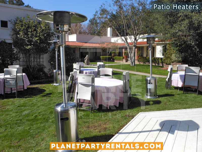 outdoor propane patio heater rentals san fernando valley patio heater rentals - Outdoor Propane Heaters