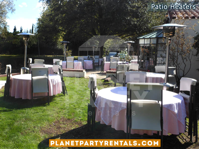 Outdoor propane patio heater rentals | San Fernando Valley Patio Heater Rentals