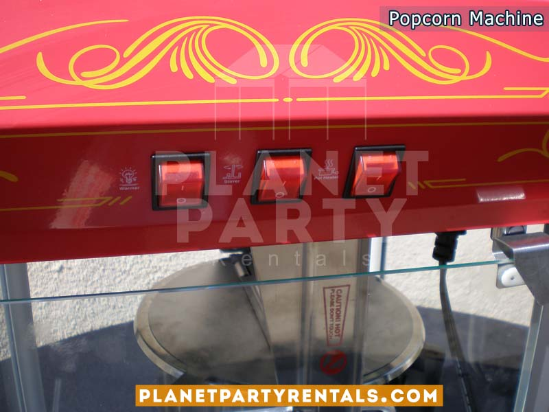 Popcorn Machine 8oz Rental | Popcorn Rentals |Party Rentals | San Fernando Valley