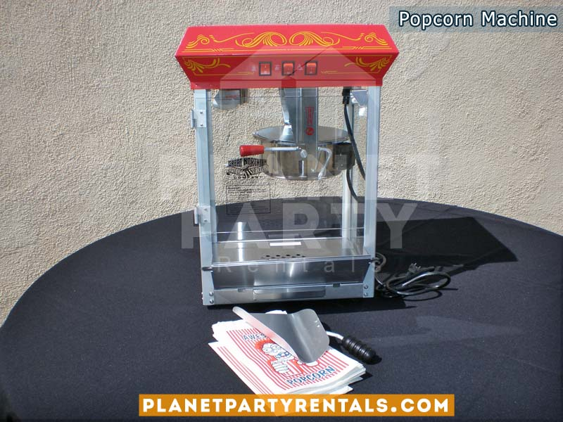Popcorn Machine rentals | San Fernando Valley Party Rental Equipment