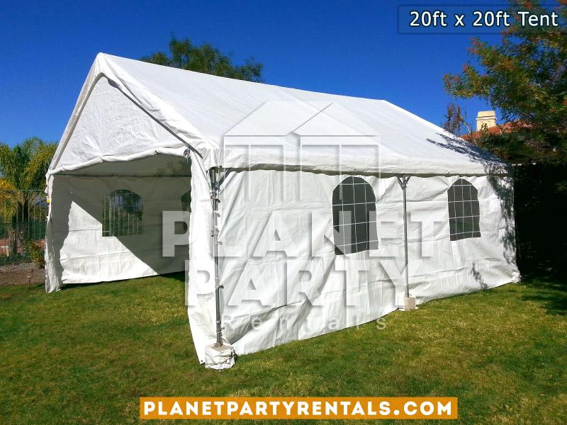 20x20 Tent with side panels 20x20 Tent with side panels