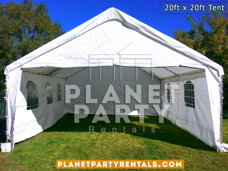 20x20 Tent with window sidewalls