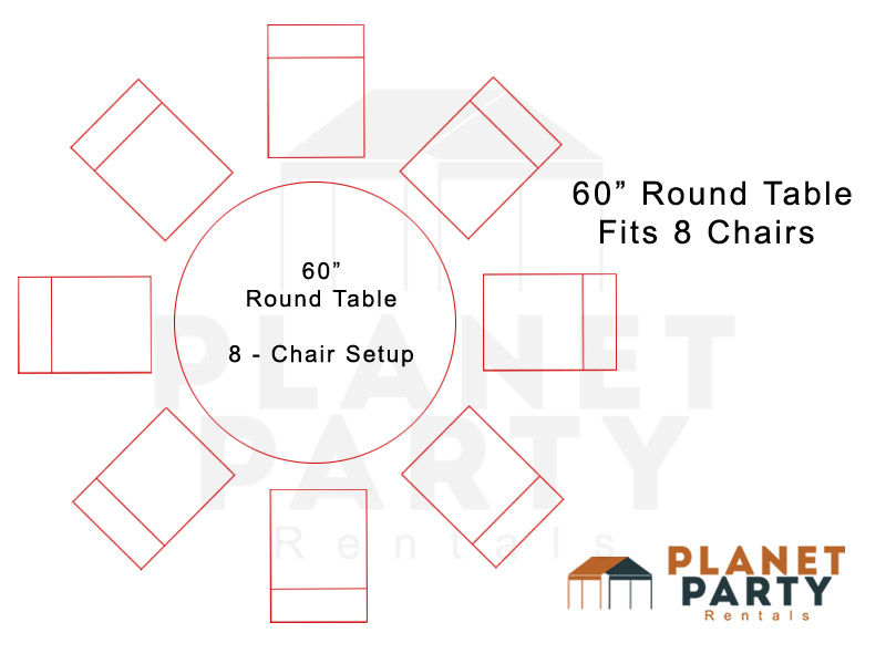 Marvelous 60 Inch Round Table Layout