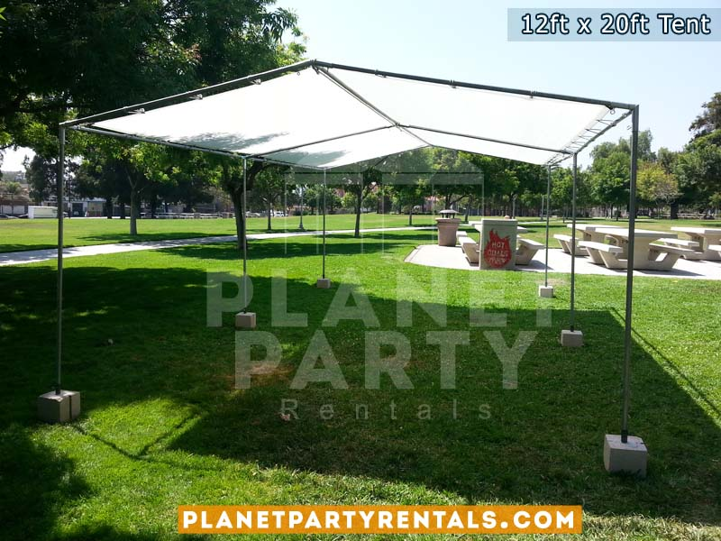 12ft x 20ft Tent on Grass.