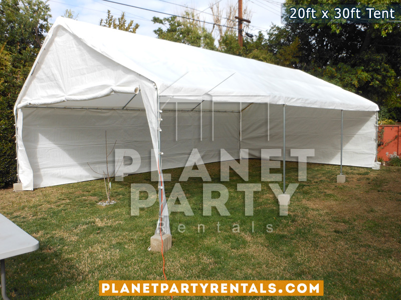 20 x 30 White Party Tent